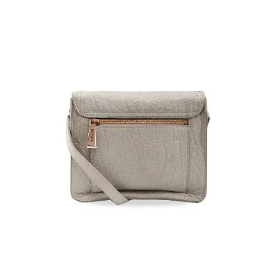 round flap cross bag grey 1